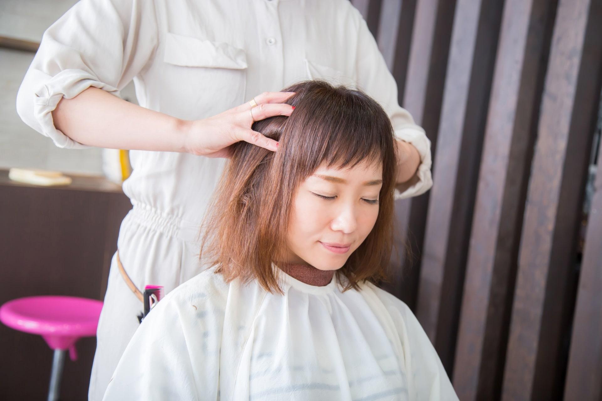 理美容サロンができる円形脱毛症ケアプログラム